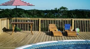 With Lake Views From The Pool, Enjoy A Staycation At This Relaxing Bed And Breakfast In Kentucky