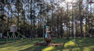Yogi Bear's Jellystone Park In Alabama Is A Unique Destination For A Summer Camping Trip