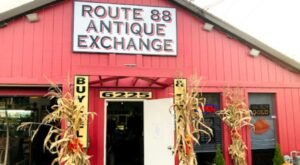 Route 88 Antique Exchange Is The Perfect Day Trip Destination Near Pittsburgh