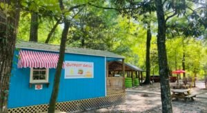 Dine Alongside The Beautiful Bogue Chitto River At Outpost Grill In Mississippi