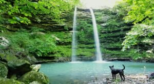 This 2-Mile Trail In Arkansas Leads To A Double Waterfall And A Waterfall Swimming Hole