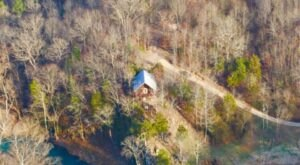 Perched Above The Caddo River, Nichols Hole Cabin Offers One Of Arkansas' Most Scenic Getaways