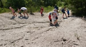 Hunt For Fossils On The Beautiful And Easy Russell Wildlife Rabbit Trail In Iowa