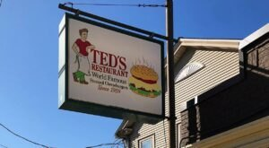 People Drive From All Over Connecticut To Try The Steamed Cheeseburgers At Ted's Restaurant