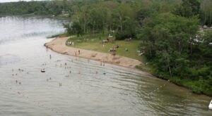 The Natural Swimming Hole At Lake Metigoshe State Park In North Dakota Will Take You Back To The Good Ole Days