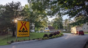 With Cozy Accommodations And Some Great Amenities, The Whole Family Will Love This KOA Campground In Mississippi