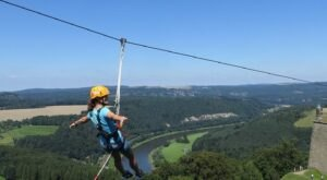 Fly Through The Trees At Over 50 Miles Per Hour At Legacy Mountain Ziplines In East Tennessee