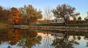 Take A Last Minute Adventure To Diamond Lake Park, A No-Reservation-Required Campground In Iowa