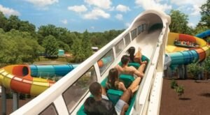 The Largest Water Park In Virginia, Water Country USA Features Nearly A Mile Of Waterslides