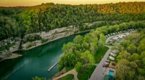 A Riverfront Campground, RV Park, And Marina That's Perfectly Situated Along Kentucky's Bourbon Trail