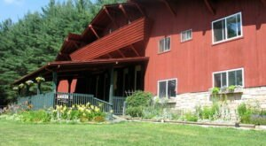 The 10,000 Square Foot, 10-Bedroom Lodge Near West Virginia's New River Gorge That Sleeps 32