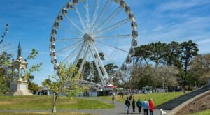 You Can Ride America's Largest Traveling Observation Wheel Here In Northern California Until 2025