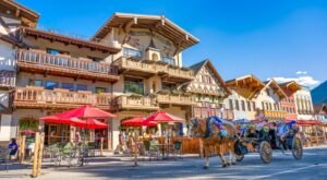 One Of The Most Unique Towns In America, Leavenworth Is Perfect For A Day Trip In Washington