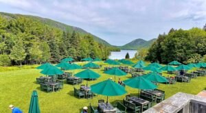 Experience Beautiful Views Of Acadia National Park When You Dine At Jordan's Pond House