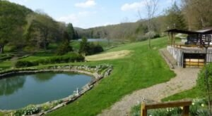 Cool Off In A Pristine Spring-Fed Pool At This 600-Acre Mountain Airbnb In Pennsylvania