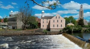 Travel Back To The Industrial Revolution By Visiting Rhode Island's Very Own Slater Mill