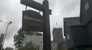 Visit The Witch House, One Of The Last Remaining Structures Associated With The Witch Trials In Massachusetts