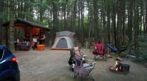 Maine's Best Kept Camping Secret Is This Waterfront Spot With More Than 180 Glorious Campsites