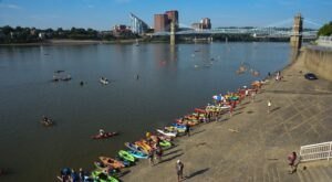 The Largest Paddling Event In The Nation, The Ohio River Paddlefest Is A Not-To-Be-Missed Summer Event