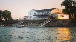 Take In Incredible Views At The Paddle Trap, A Waterfront Restaurant In North Dakota