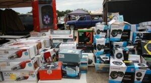 Shop Till You Drop At Anderson Jockey Lot, One Of The Largest Flea Markets In South Carolina