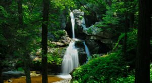 Take A Connecticut Adventure To Our State's Stunning Quarter-Mile Cascade