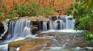 Hike To Jonathan Run Falls, A Hidden Waterfall At Ohiopyle State Park Near Pittsburgh
