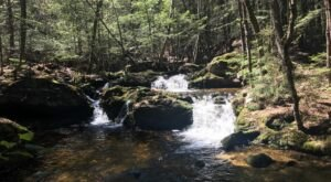 Take A Maine Adventure To Our State's Stunning Double Waterfall