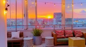 Endless Views Await You At Monkey Board, A Rooftop Restaurant And Bar In New Orleans