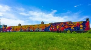 The Story Behind The Cotton Belt Freight Depot In Missouri Is Just As Colorful As The Now-Abandoned Building