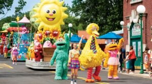 Join All Of Your Favorite Childhood Characters For An Unforgettable Family Day Out At Sesame Place In Pennsylvania