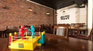 Sip Drinks While You Play With Over 1500 Board Games At Boards & Brews In New Hampshire