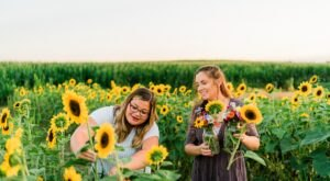 You Can Cut Your Own Flowers At The Festive Harvest Tyme Family Farm In Indiana