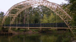 Dunn's Bridge Is An Awe-Inspiring And Unique Bridge In Indiana