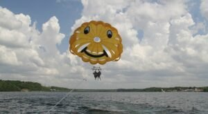 Fly Through The Sky And Drink In Amazing Views With Paradise Parasail In Missouri