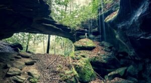 Red Byrd Arch Is A Beautiful – And Overlooked – Trail In Kentucky's Red River Gorge