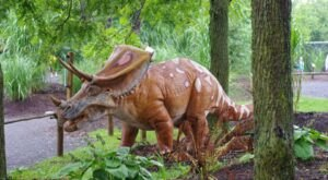 You Have To Visit This Incredible Dinosaur Forest In Pennsylvania