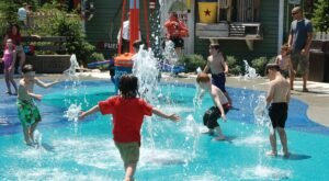 There's A Nautically-Themed Playground And Splash Pad In Kentucky Called The Splash Park at Glacier Run