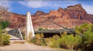 The Exhilarating San Rafael Swinging Bridge Hike In Utah That Everyone Must Experience At Least Once