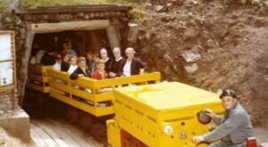 Explore An Old Coal Mine 400 Feet Below The Surface On This Open Mine Car Ride In Pennsylvania