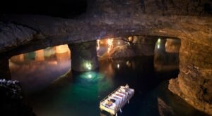 Explore An Historic Lead Mine 400-Feet Below The Surface On This Boat Ride In Missouri