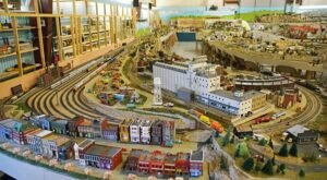This Indoor Train Park Hiding In Missouri Proves There's Still A Kid In All Of Us