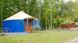 Mountain Lake Campground And Cabins In West Virginia Has A Yurt Village That's Absolutely To Die For