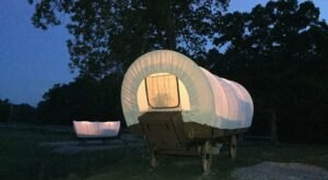 True West Is A Covered Wagon Campground In Tennessee And It's A Unique Overnight Adventure