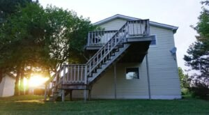 Forget The Resorts, Rent This Charming Waterfront Cottage Airbnb In Nebraska Instead