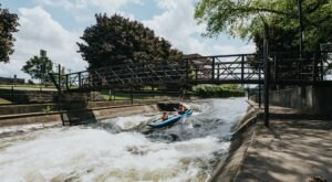 Kayak Your Way Through South Bend, Indiana, On The Epic East Race Waterway