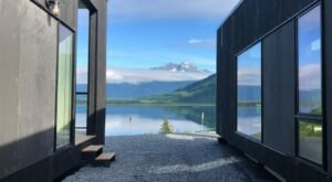 There's An Airbnb In A Modern Shipping Container In Alaska And It's Downright Cozy
