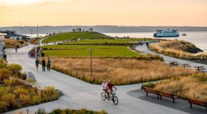 The Newest Addition Of This Gorgeous Washington Waterfront Park Is A Must-See