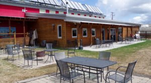 Enjoy Award-Winning Beer And Tasty Burgers On The Red Lodge Ales Patio In Montana