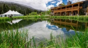 Splurge On A Stay At This Peaceful Montana Lodge That Sits Right On The Gallatin River